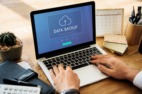 What risks does my company have if we do not backup the data?
